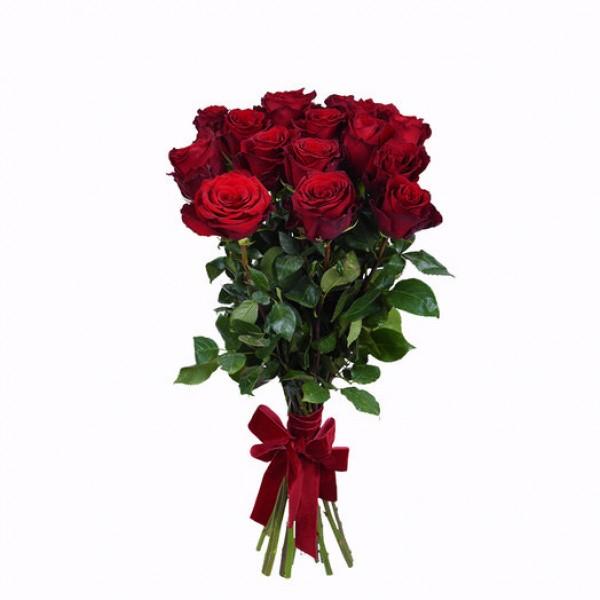 Букет из красных роз премум