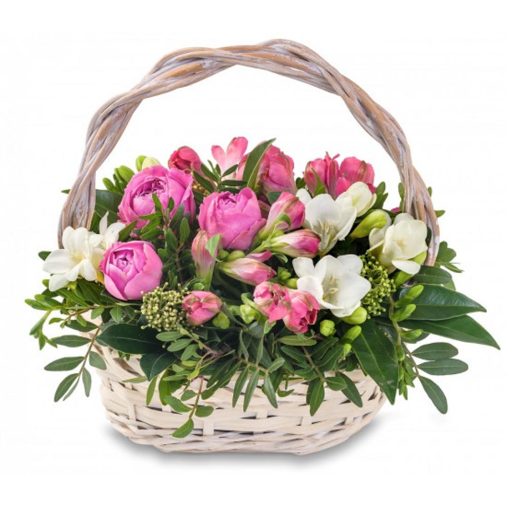 """Корзина цветов """"Флёр-де-лис"""""""